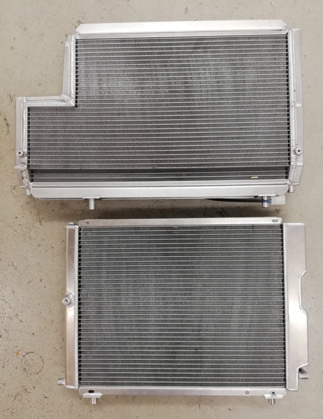 Lancia Delta HF integrale Safari Road Water Radiator Comparsion