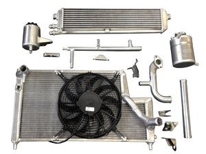Lancia Delta HF integrale Gr.A Safari Water Oil Radiator Kit with Tanks