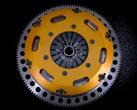 Lancia Delta HF twin disc clutch kit with flywheel
