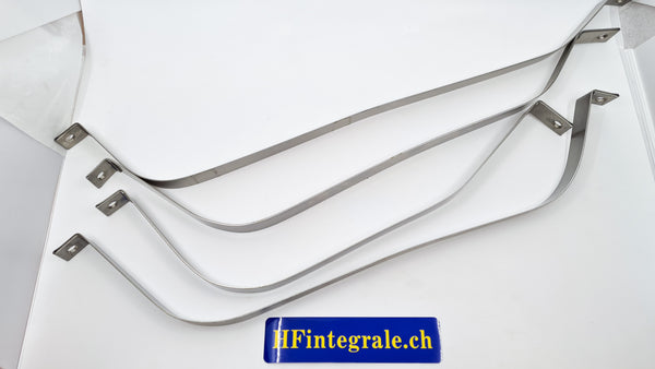 Lancia Delta HF integrale Tank Straps in Stainless Steel