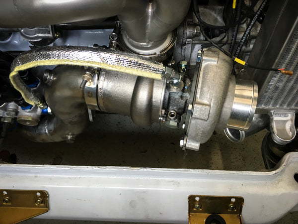 Garrett Lancia Delta Stainless Steel IWG turbine housing