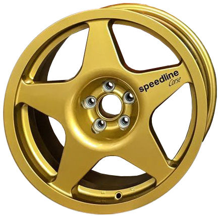 Lancia Delta Speedline Champion Wheels in 8x17 and gold color