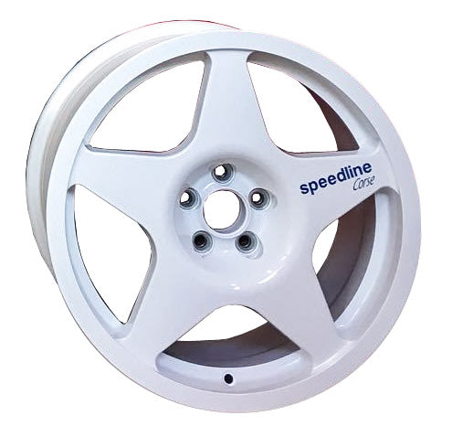 Lancia Delta Speedline Champion Wheels in 8x17 and white color