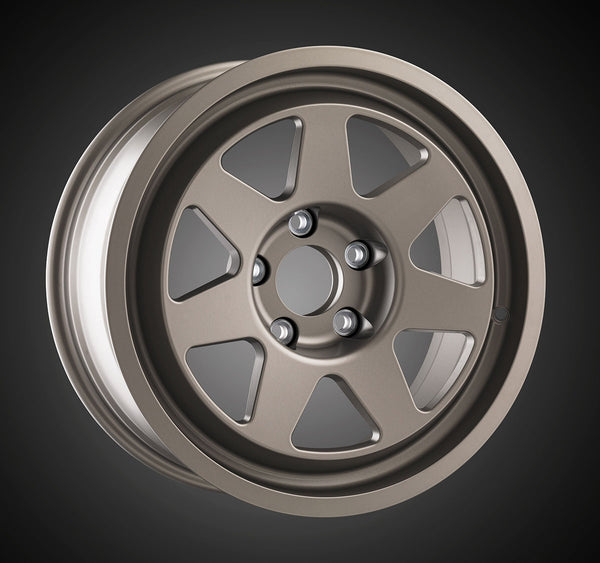 Tecnomagnesio style Rallye Racing cast wheels applications for Lancia Delta HF integrale and BMW M3 E30 grey antracite