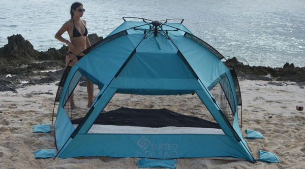5 reason why a beach shade tent is your best choice for a sun-safe summer