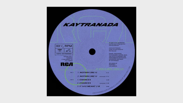 New Music — Nothin Like U / Chances by Kaytranada