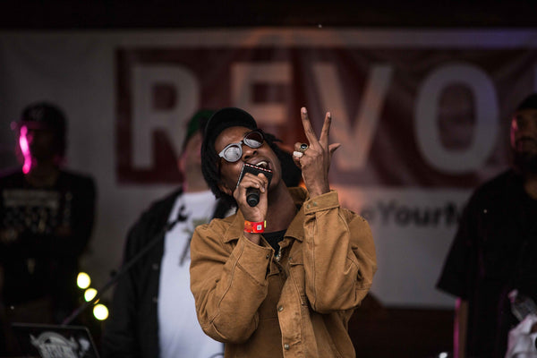 Joey Bada$$ in I Love Ugly Eyewear