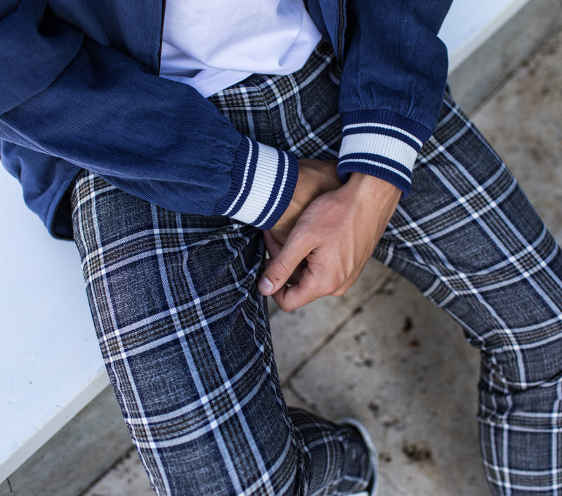 Smart Zespy Pant - Tyson Check