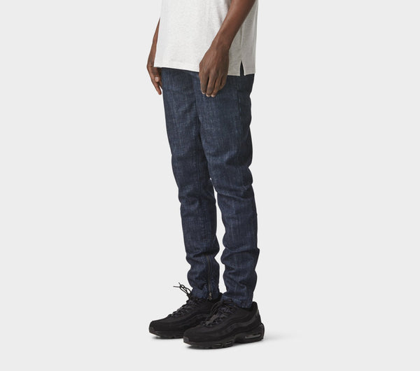 Denim Mid Rise Zespy Pant - Raw