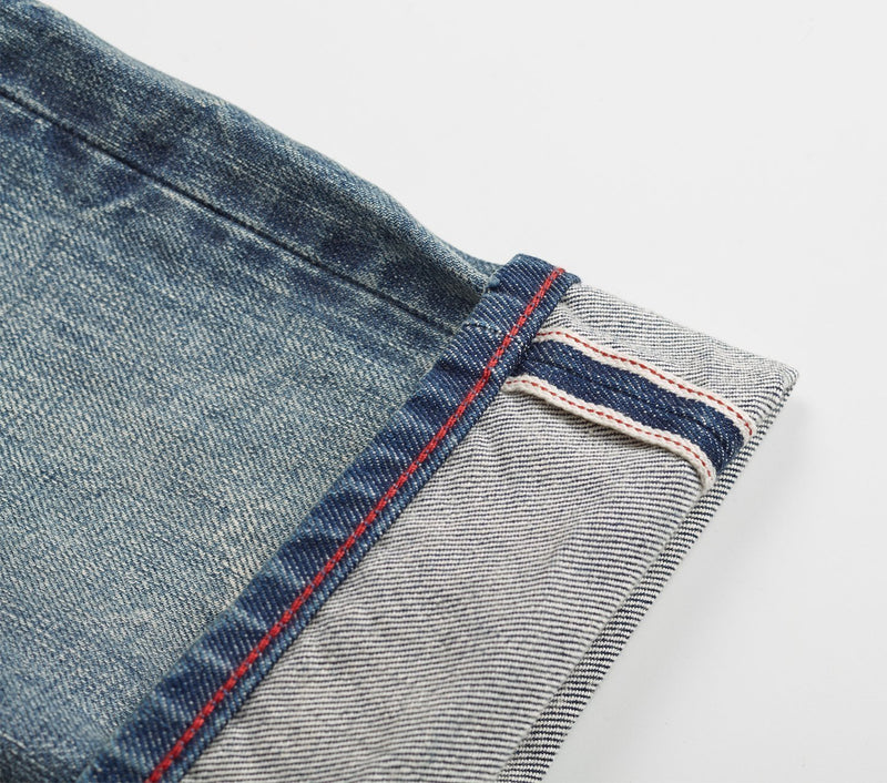 Tapered Denim - Light Aged
