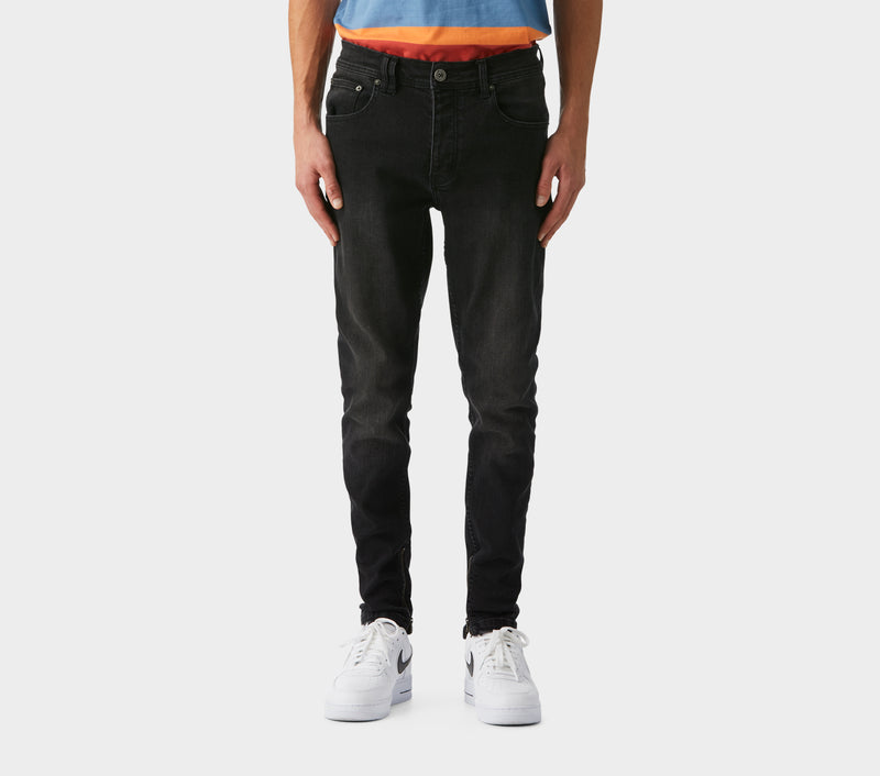 Smart Zespy Pant Denim - Faded Black
