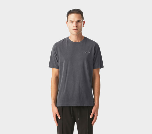 Easy Logo Tee - Washed Black