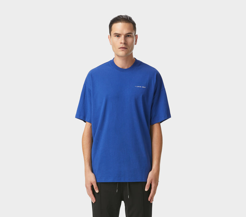 Box Fit Tee - Dutch Blue