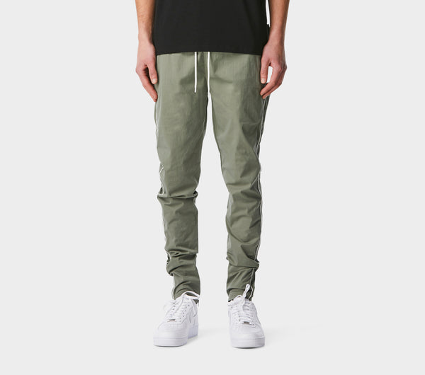 Piped Zespy Pant Mid Rise - Moss