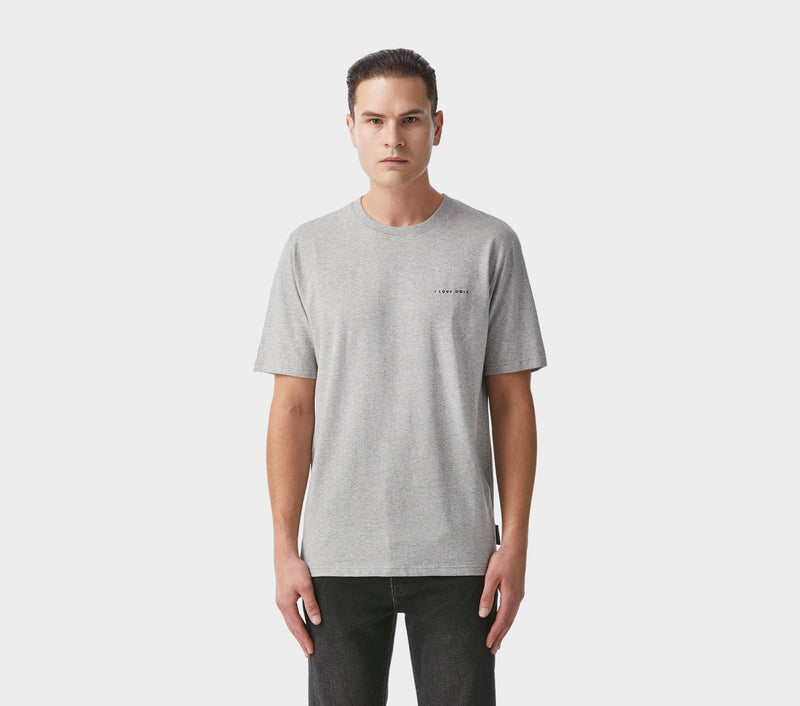 Easy Logo Tee - Vintage Grey