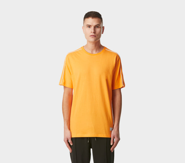 Double Piped Tee - Orange