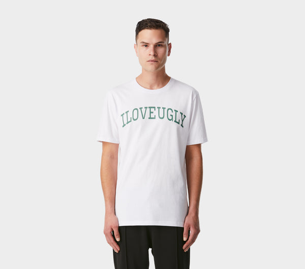 College Tee - White