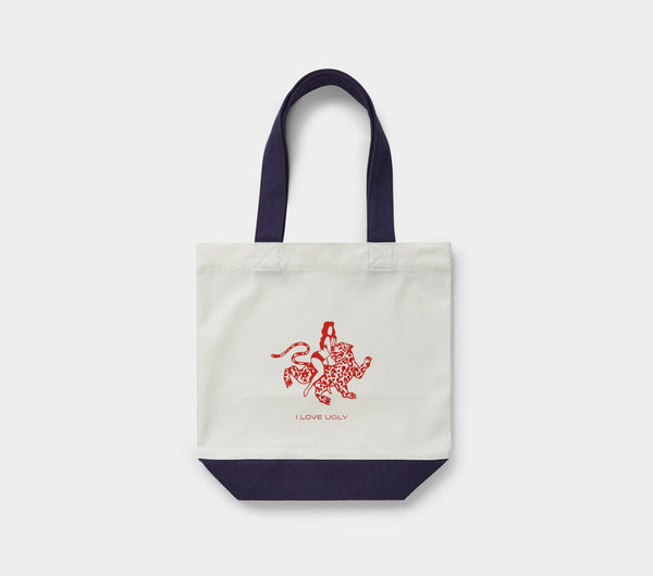 Safari Tote Bag - Ivory Denim