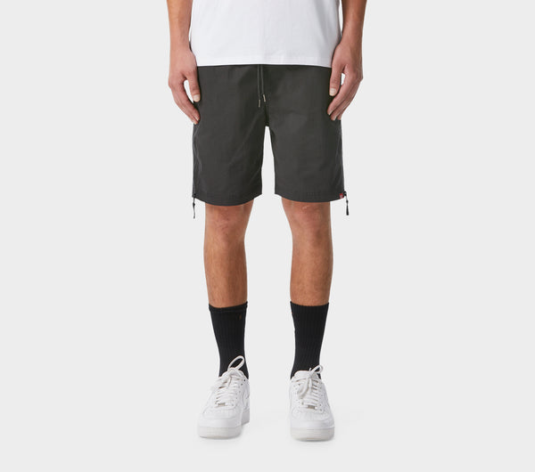 Two Tone Frankie Shorts - Black/Charcoal