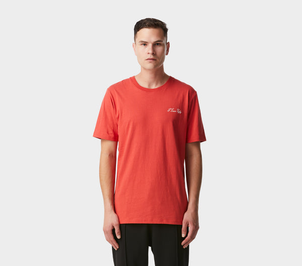Long Hand Tee - Persian Red
