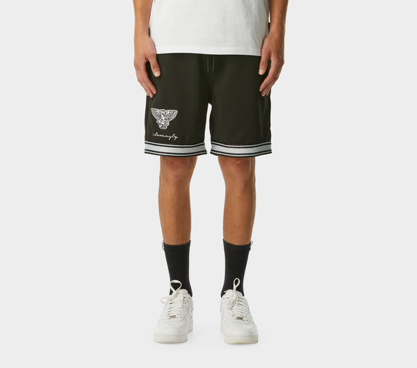 Sosa Trackie Short - Black