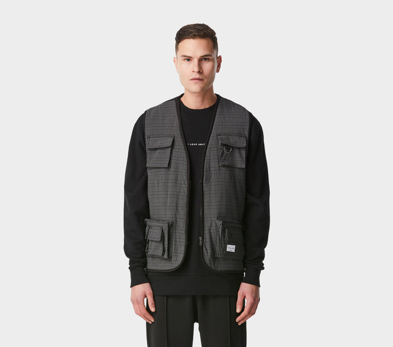 Vardy Military Vest - St. Kevins Check