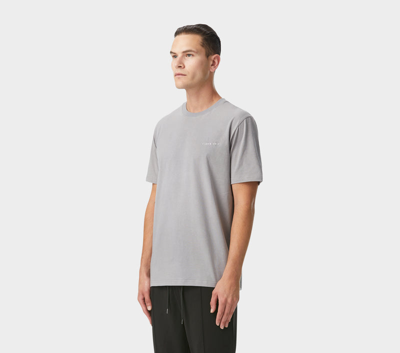 Easy Logo Tee - Steel Grey