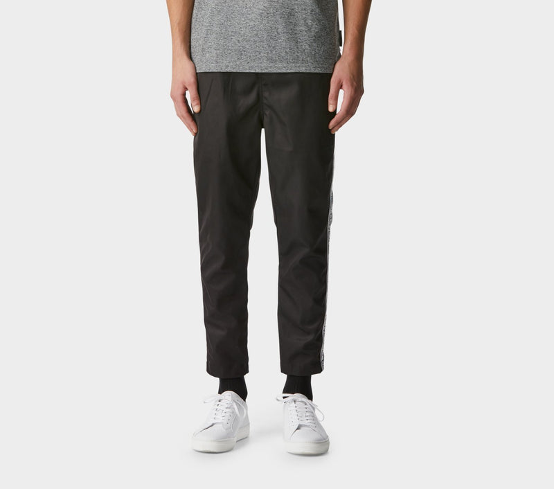 Anton Track Pant - Black Taped