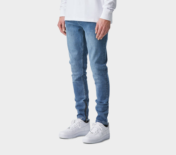 Smart Zespy Pant Denim - Light Vintage Blue