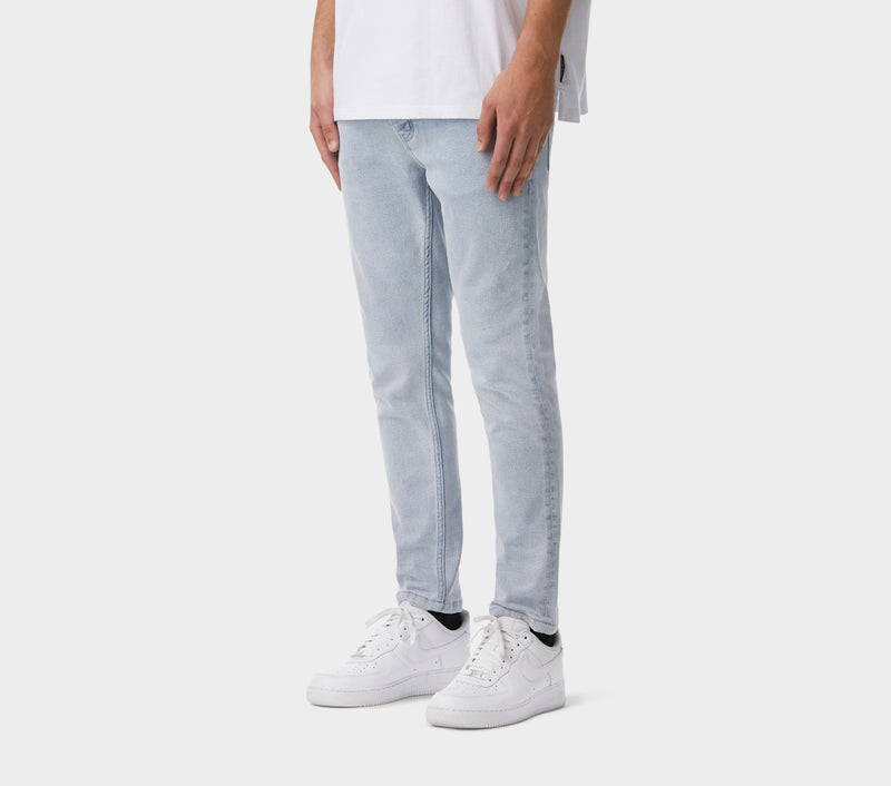 Denim Smart Pant - Light Blue