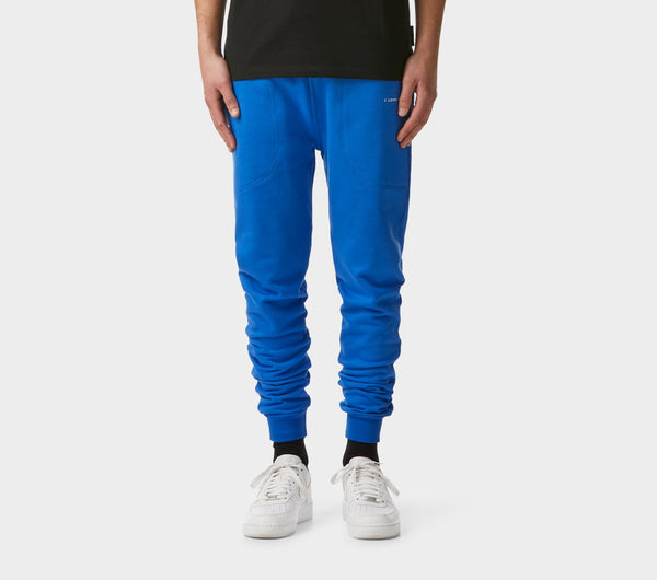 Mid Rise Zespy Trackie - Electric Blue