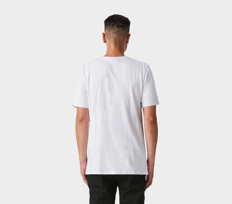 Wrong Place Tee - White