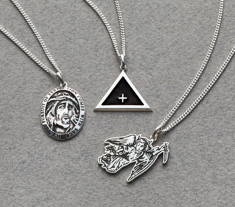 Sacrifice Necklace - Sterling Silver