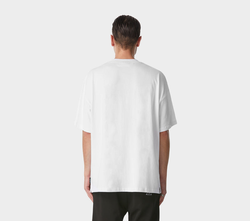 Box Fit Tee - White