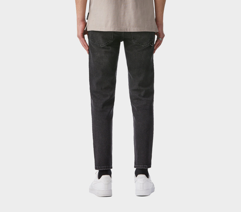 Denim Smart Pant - Washed Black