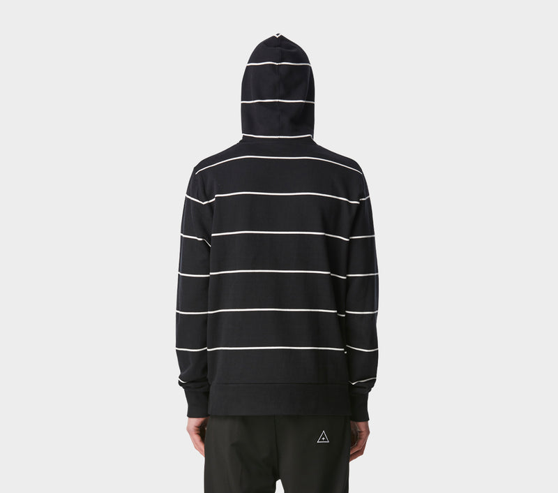 Harley Hood - Black Stripe