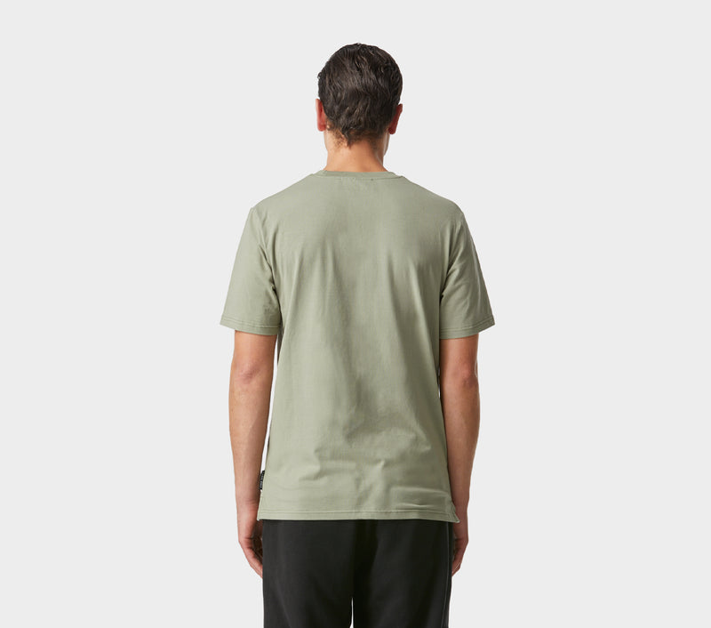 Easy Logo Tee - Moss Green