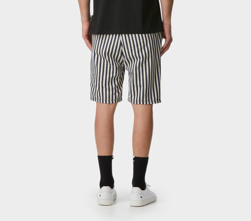 Jonty Short - Navy Stripe