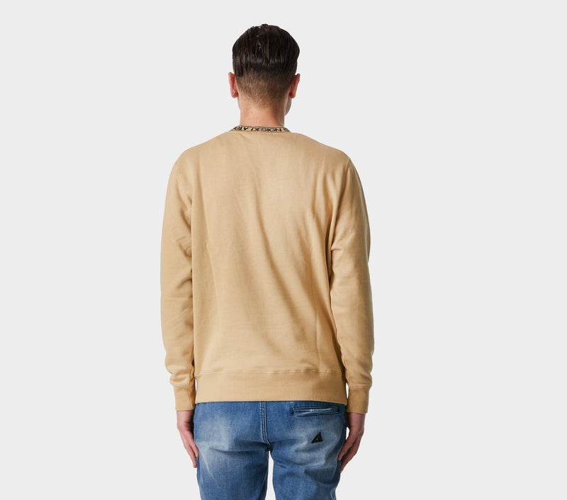 Neck Logo Casper Crew - Dust