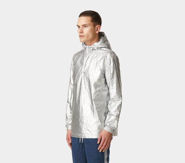 Tech Anorak - Grey Foil