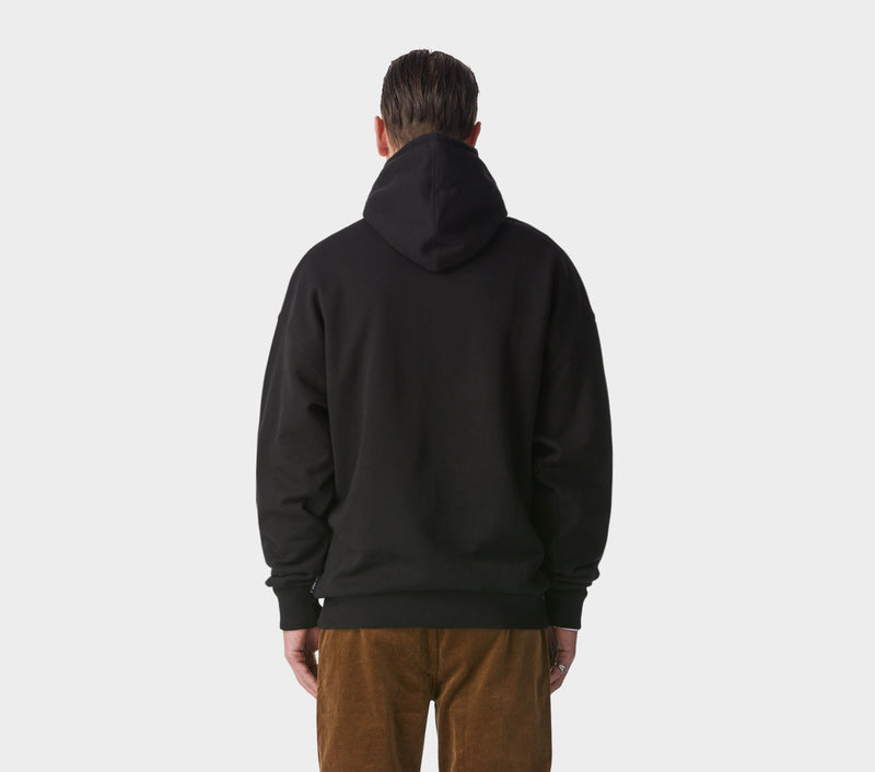 Box Fit Hood - Black