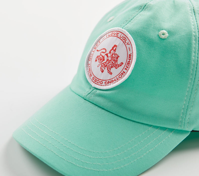 Patch Porter Cap - Mint Green
