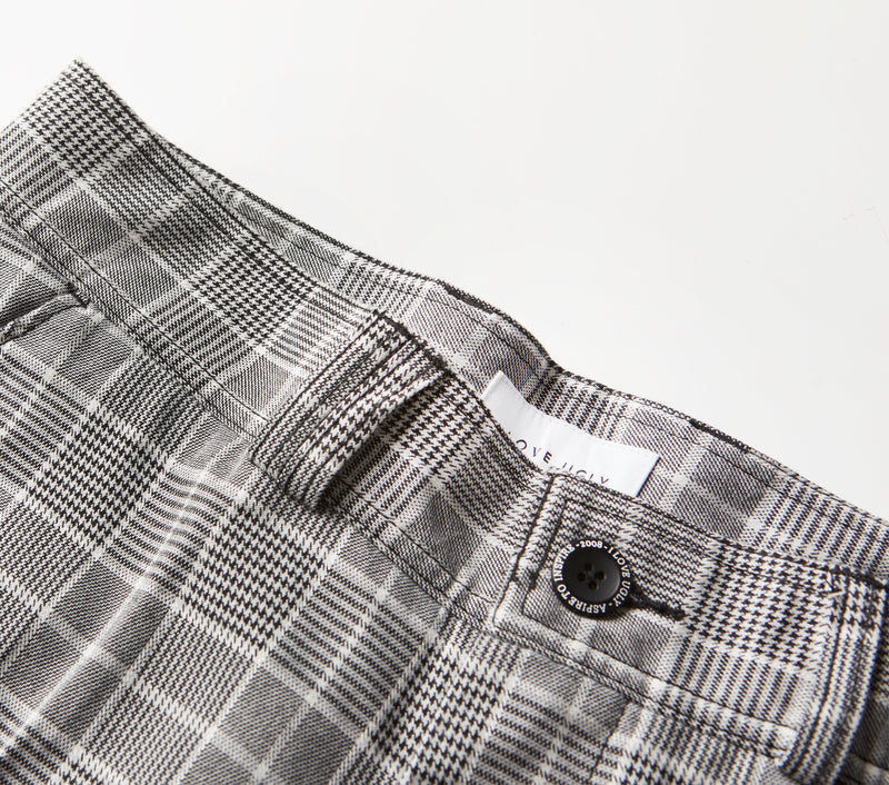 Slim Kobe Pant - Black Check
