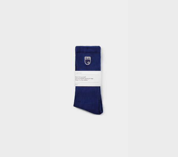 Football Sock - Russian Blue