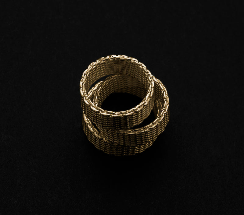 Chain Ring - Gold