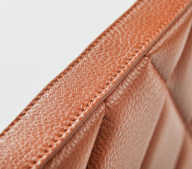 Leather Laptop Case - Tan Leather