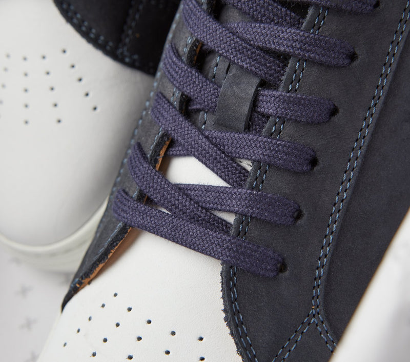 Nelson Low - Navy Nubuck