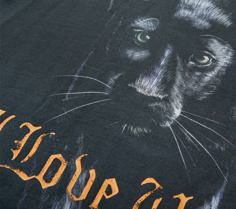 Relaxed Jaguar Tee - Charcoal