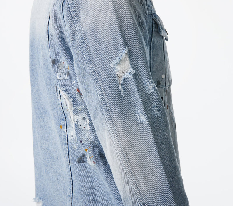 Denim Jacket - Stained Blue