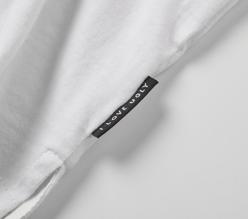 Never Perfect Tee - White